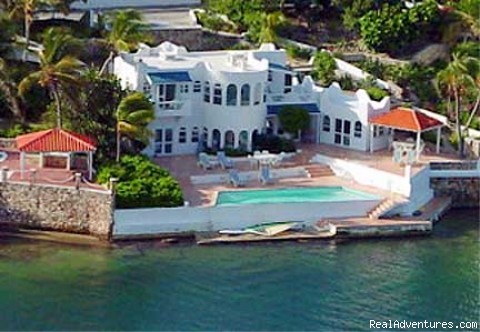 PIROUETTE 15 St Maarten Villa On the LAGOON Photo #1