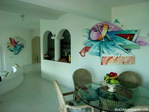 Dining Room - PIROUETTE 15 St Maarten Villa On the LAGOON