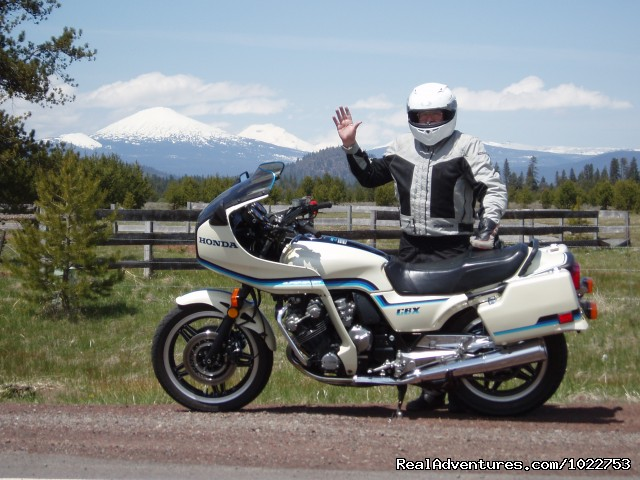 MotoFantasy Motorcycle Rentals on site - DiamondStone Guest Lodges,  gems of Central Oregon