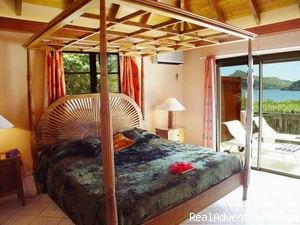 Master Bedroom - Affordable Beach Front Luxury: Villa ROSEBUD