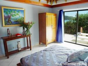 Bedroom #2 - Affordable Beach Front Luxury: Villa ROSEBUD