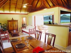 Living Area - Affordable Beach Front Luxury: Villa ROSEBUD
