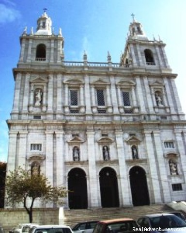 Church of St. Vincent - Lisbon Tours by Air-conditioned SUV