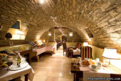 Breakfast vaulted cellar - Hotel Le Cep****