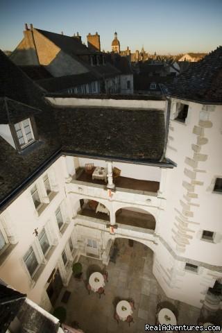 Courtyard XVI century (#14 of 21) - Hotel Le Cep****