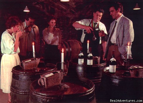 Wine tasting in a cave of the city - Hotel Le Cep****