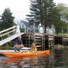 Enjoy kayaking from our private dock