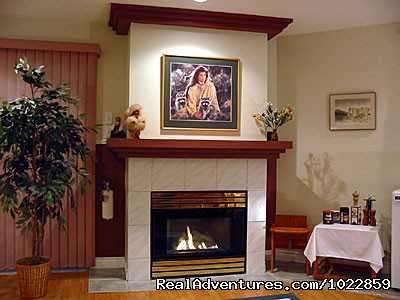 Fireplace (#4 of 17) - Vancouver area - Green Gables Bed and Breakfast