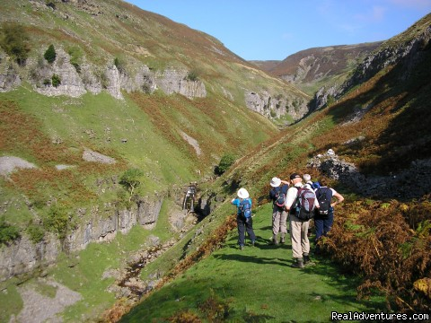 Swinnergill gorge - Curlew Guided Walking