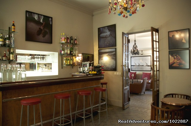 The bar of the Hotel Nord-Pinus (#3 of 16) - GRAND HOTEL NORD-PINUS a hotel with a soul