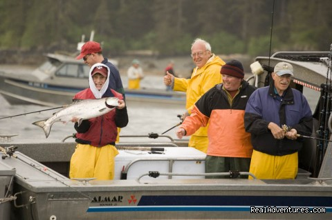 All skill levels welcome - Legendary Alaska Sportfishing - Waterfall Resort