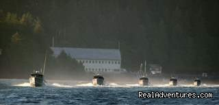 Heading out in the morning mist (#10 of 15) - Legendary Alaska Sportfishing - Waterfall Resort