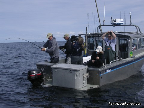 Cruisers, Gear & Guides - Legendary Alaska Sportfishing - Waterfall Resort