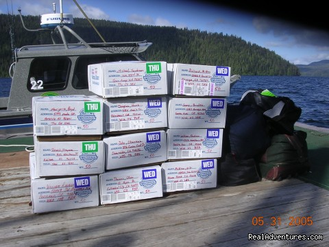 Custom Fish Processing - Legendary Alaska Sportfishing - Waterfall Resort