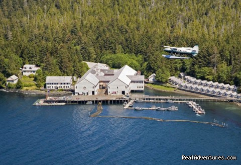 Historic Location - Legendary Alaska Sportfishing - Waterfall Resort