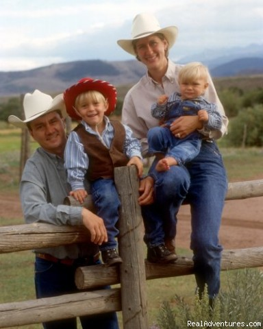 Laramie River Dude Ranch The Burleigh Family