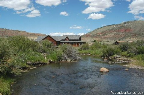 The ranch lodge - Laramie River Dude Ranch