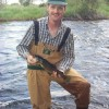 Fly fishing for wild brown trout
