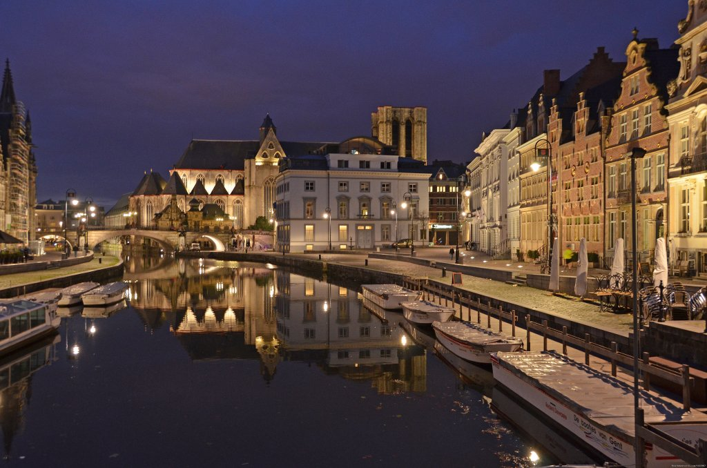 Ghent by night | Image #12/24 | 't Staaksken , a place for garden lovers