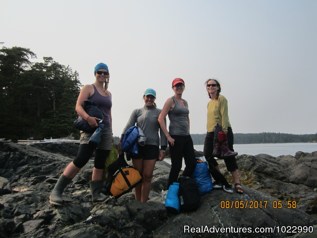 Alissa's Group - Best Kayak Trips Johnstone Strait