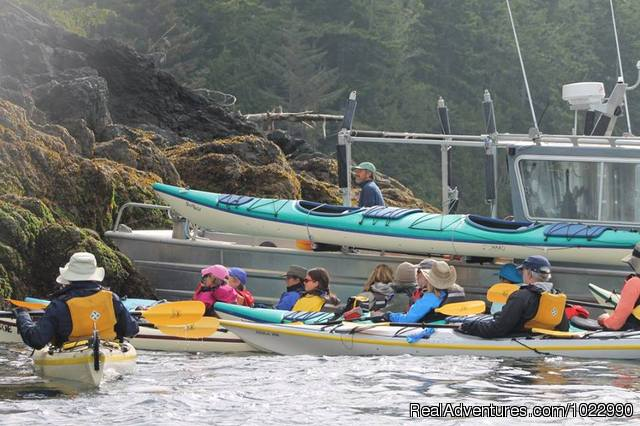 Seawolfe Carving - Sea Kayak Vacations on Vancouver Island