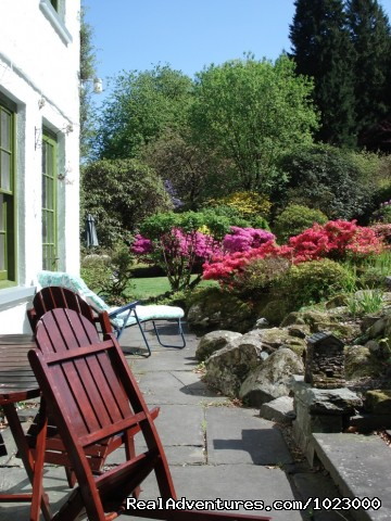 Patio & Garden - Foxghyll Guest House B&B