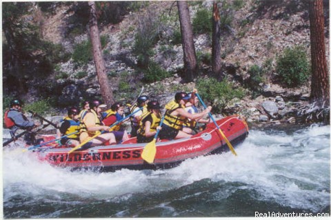 6-Days of White Water on Idaho's Middle Fork: Padle Boat