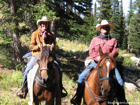 Horseback riding in the Tetons & Yellowstone Park Your hosts:  Kevin & Deb Little