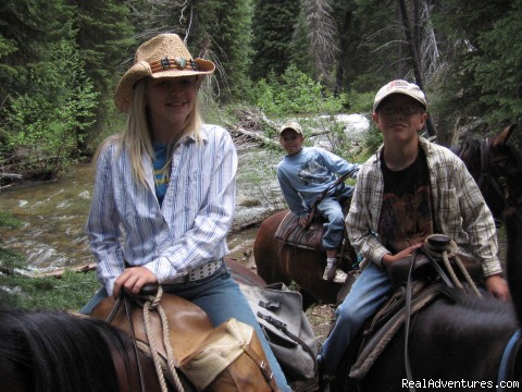 Image #7 of 17 - Horseback riding in the Tetons & Yellowstone Park