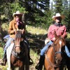 Horseback riding in the Tetons & Yellowstone Park Driggs, Idaho Horseback Riding