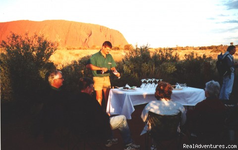 Dine in style with Global Gypsies - Escorted Self-drive Tours to Outback Australia