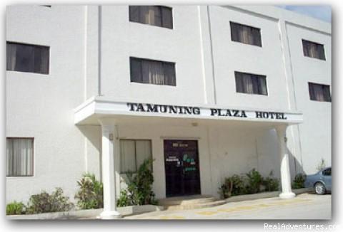 Guam Tamuning Plaza Hotel Front View