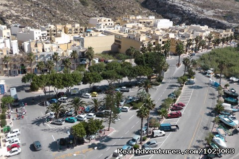 View of Xlendi village as seen from the apartments - SeaStar Apartments