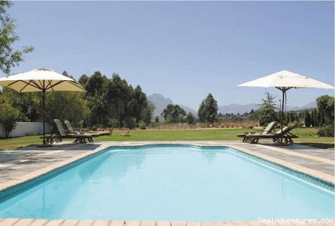 swimming pool - Ons Genot Country Lodge