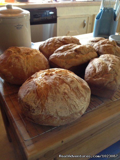 Fresh bread baked daily - Alaska's Iniakuk Lake Wilderness Lodge