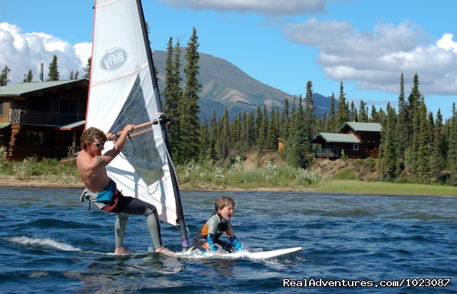 Windsurfing 60 miles above the Arctic Circle (#11 of 25) - Alaska's Iniakuk Lake Wilderness Lodge