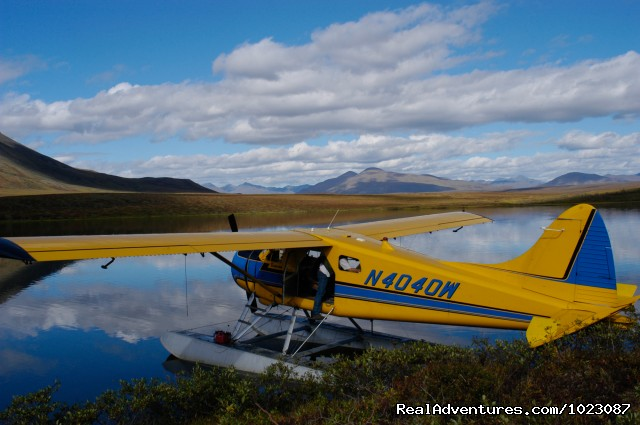 Only accessible by floatplane - Alaska's Iniakuk Lake Wilderness Lodge