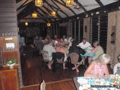 Evening Dining - Dive Kadavu / Matana Beach Resort
