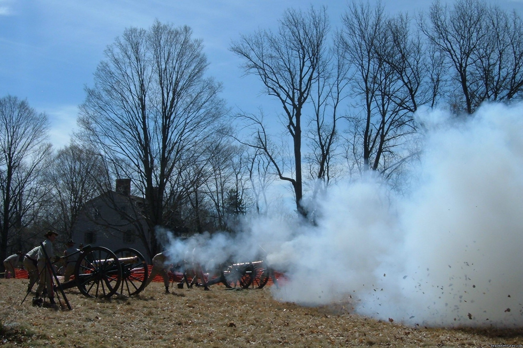 Cannon Battery on Patriot's Day