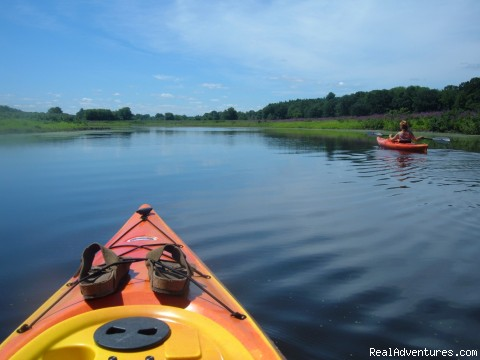 Kayaking Concord's three rivers - Hawthorne Inn- Relaxed elegance