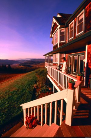 Oregon's Premier Wine Country Inn - Youngberg Hill McMinnville, Oregon Bed & Breakfasts