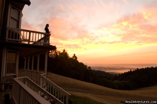 Sunrise from our room | Image #5/7 | Oregon's Premier Wine Country Inn - Youngberg Hill