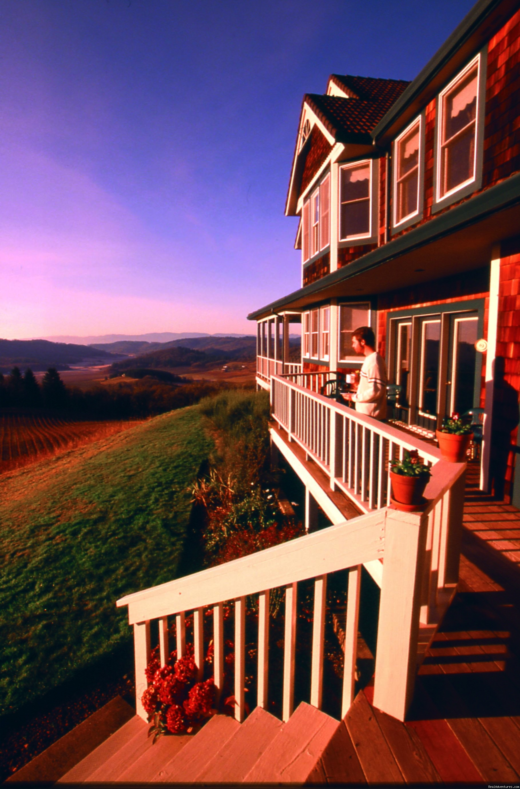 A spectacular view in every direction! | Image #1/7 | McMinnville, Oregon  | Bed & Breakfasts | Oregon's Premier Wine Country Inn - Youngberg Hill