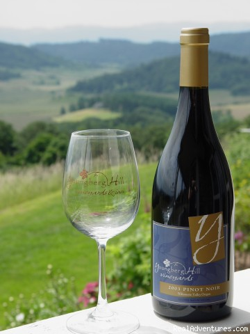 Great Wine - Oregon's Premier Wine Country Inn - Youngberg Hill