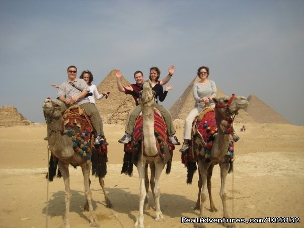 Camel Ride in Giza Pyramids - 5 Star Nile Cruise (8 Nights / 9 Days) US$ 509