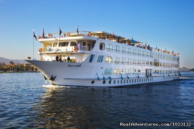Nile cruise front view - 5 Star Nile Cruise (8 Nights / 9 Days) US$ 509