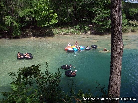 Tubing the Frio River | Image #6/12 | Secluded Cabin in Texas Hill Country on Frio River
