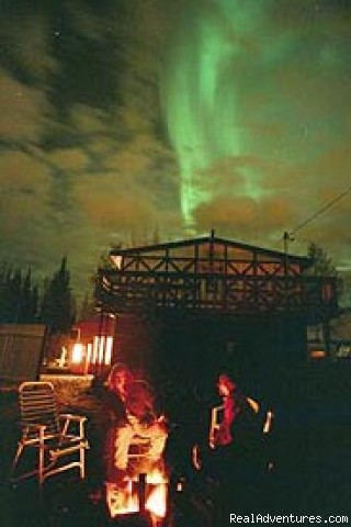 Northern Lights from Hostel - Billie's Backpackers Hostel