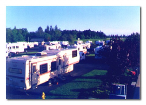 Over View - Portland-Woodburn RV Park -