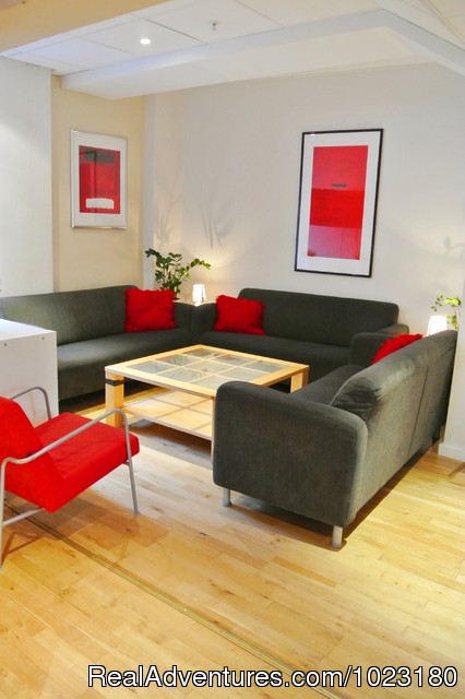 Lounge - Marken Gjestehus - Budget Travel